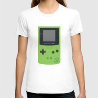 gameboy T-shirts featuring GAMEBOY Color - Green by Cedric S Touati