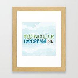 Technicolour Daydream Framed Art Print