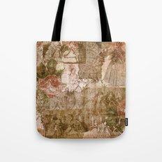 Vintage & Shabby Chic- Victorian ladies pattern Tote Bag