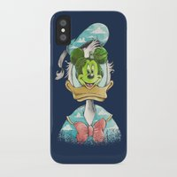 magritte iPhone & iPod Cases featuring duck magritte by Alan Maia