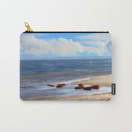 On A Clear Day - Painterly Carry-All Pouch