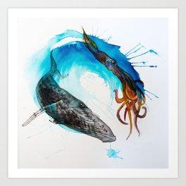 Ocean Balance Art Print