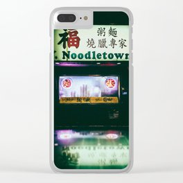 CHINATOWN Clear iPhone Case