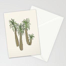madagascar palm Stationery Cards