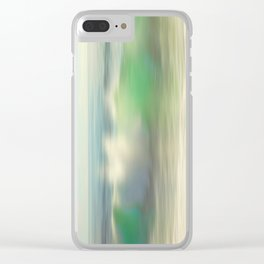 Slowly Rolling Clear iPhone Case