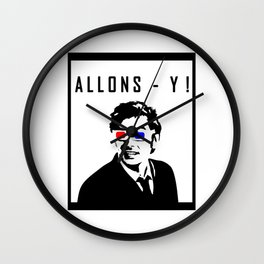 Doctor Who - Allons - Y! Wall Clock
