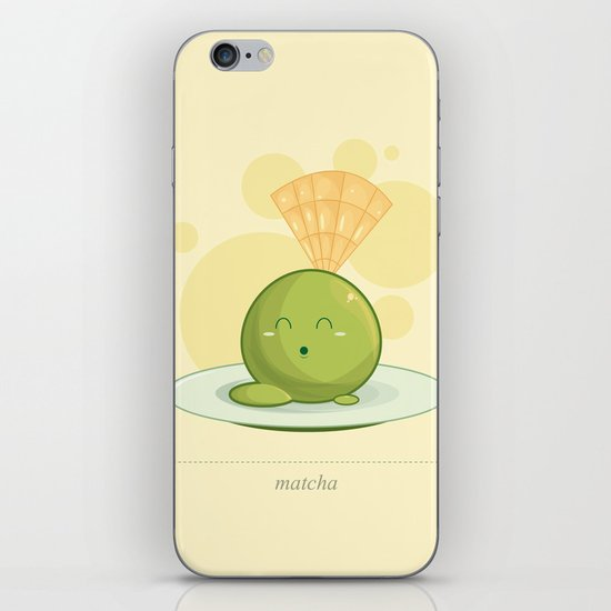 Baby Matcha iPhone & iPod Skin