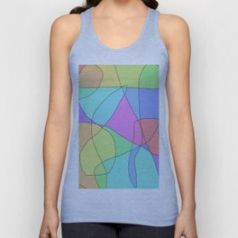 SHAPES Unisex Tank Top
