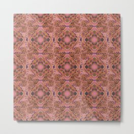 Love Pattern Metal Print