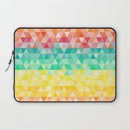 Rainbow triangles Laptop Sleeve