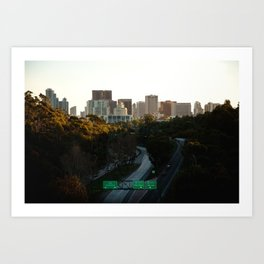 Downtown San Diego Skyline Art Print