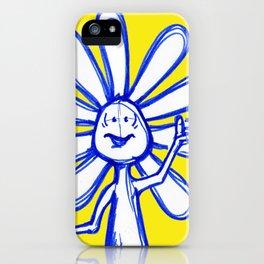 """Joy Inspires All Other Emotions"" Flowerkid iPhone Case"