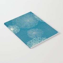 Spider Chrysanthemums Notebook