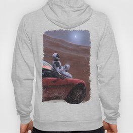 Red Car for the Red Planet Hoody