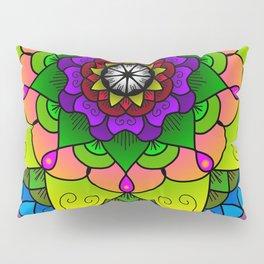 Cheerful mandala Pillow Sham