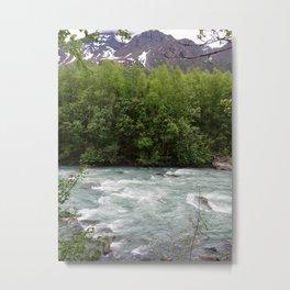 Raging River (portrait) Metal Print