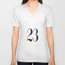 23 Unisex V-Neck