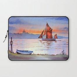 Thames Barge At Maldon England Laptop Sleeve