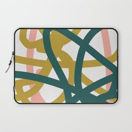 Abstract Lines 02A Laptop Sleeve