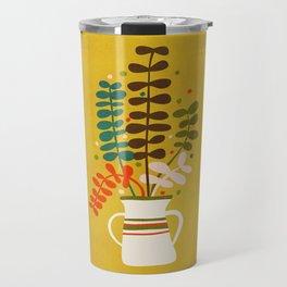 Potted Leaves Travel Mug
