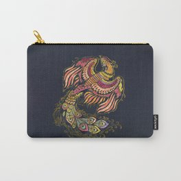 Watercolor Phoenix bird Carry-All Pouch
