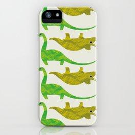 Paper Dino iPhone Case