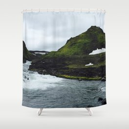 Icelandic River Shower Curtain