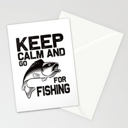 Fishing Pegs Stationery Cards