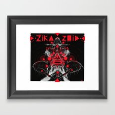 zikazoid Framed Art Print