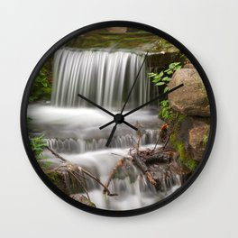 Jean-Drapeau Waterfall Wall Clock