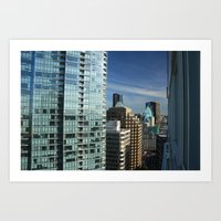 skyline Art Prints featuring Skyline by Chris Root