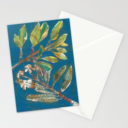 EXOTIC CAYMAN FLORA Stationery Cards