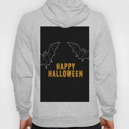 Happy Halloween Bat Hoody