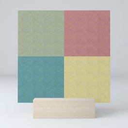 Foursquares Color Forms Mini Art Print