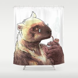 Mister carcayu Shower Curtain