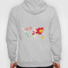 Flower map Hoody