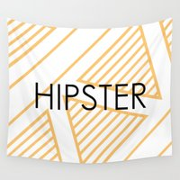 hipster Wall Tapestries featuring Hipster by Mr and Mrs Quirynen