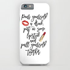 marilyn monroe,marilyn monroe quote,Gift Women,Fashion quote,Red lips,Lipstick Print,Celebration Slim Case iPhone 6s