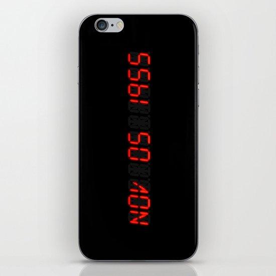 Nov 05 1955 - Back to the future iPhone & iPod Skin
