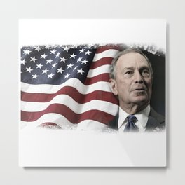 Bloomberg for America Metal Print