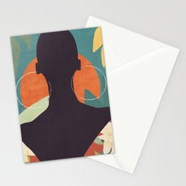 Tropical Girl 17 Stationery Cards