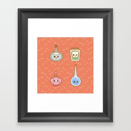 magic potions Framed Art Print