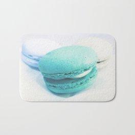 Macarons / Macaroons Teal Bath Mat