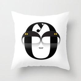 Bodoni Boy Throw Pillow