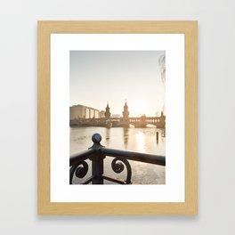 Berlinliebe Framed Art Print