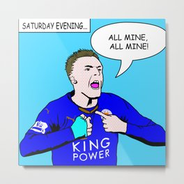 Vardy's Party (Non-Sweary) Metal Print