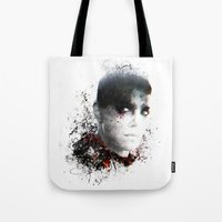 mad max Tote Bags featuring Mad Max Furiosa by ururuty