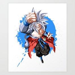 Goku Sj5 Saiyan warrior Dragon Ball Kunstdrucke
