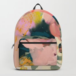 abstract floral inspiration Backpack