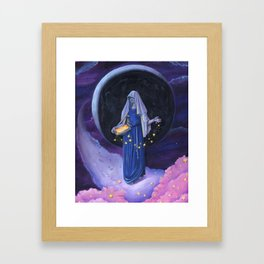 Star Mother Framed Art Print